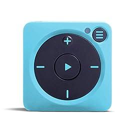 【正規品・日本語対応】Mighty Vibe ブルー Spotify/Amazon Music音楽プレーヤー ※技適マーク有