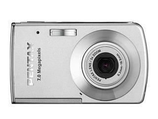 PENTAX Optio M30 Digitalkamera 7.1 (3072 x 2304) 21.9 MB Silber Silber