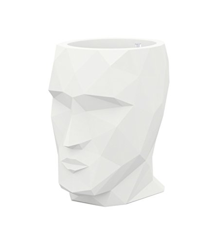 Vondom Vaso Adan–Bianco, 30x 41x H42cm