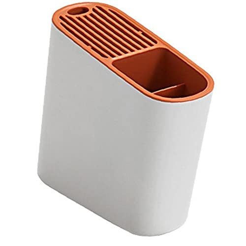 Multifuncional Cuchara Tenedor Organizador De Almacenamiento En Rack De Cubiertos Escurridor Sostenedor del Soporte De Piezas De Utensilios De Cocina Accesorios