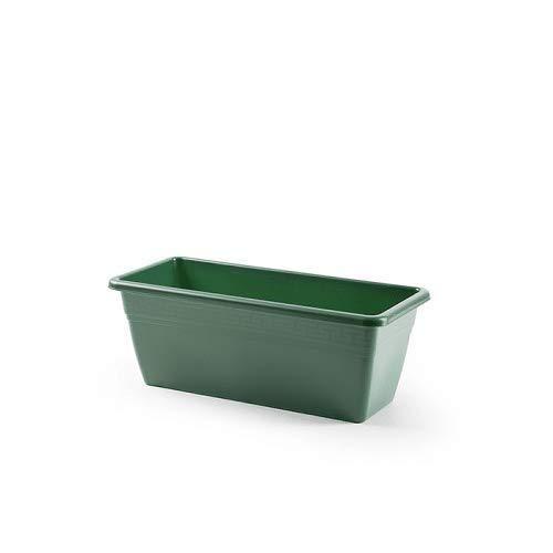 CABLEPELADO Jardinera plastico 40 cm Verde