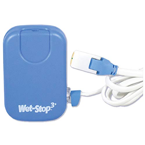 Wet-Stop 3 Blue Bedwetting Enuresis Alarm with Loud Sound and Strong Vibration for Boys or Girls, Proven Solutions for Bedwetters