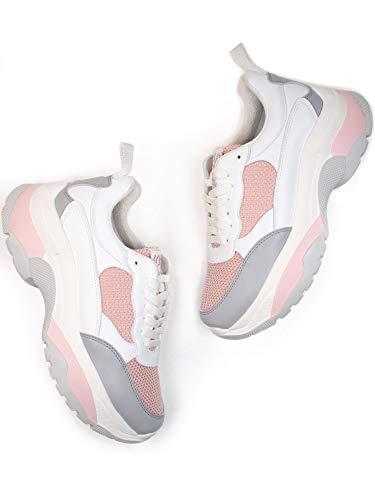 Will's Vegan Shoes Mujeres Rio Entrenadores Blanco, color Blanco, talla 39.5 EU