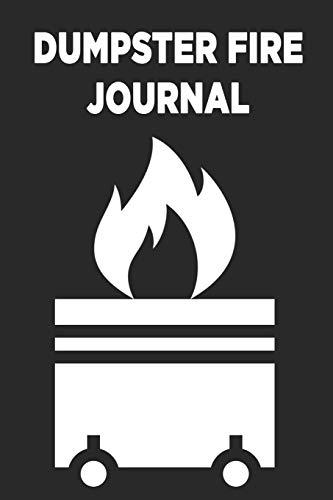 Dumpster Fire Enamel Pin by 44Cloverdale