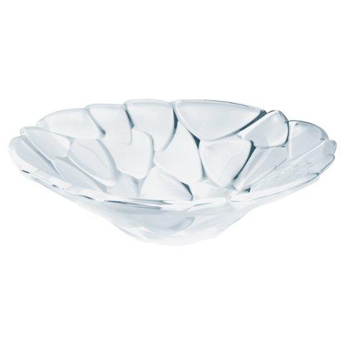 Nachtmann hochwertige Glasschale Satin Roses, Kristallglas, 34 cm, Made in Germany, 90051