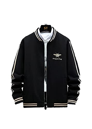 SLSCL 2021 primavera nueva chaqueta bordada marea hombres comercio exterior suministro AliExpress Amazon moda chaqueta