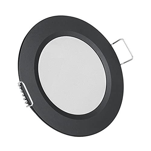 Acegoo Lámpara de techo empotrable LED de 12 V, para caravana, barco, camión, autocaravana, barco, cocina, baño, 3000 K, 1 paquete