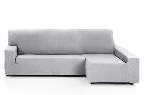 Martina Home Funda de sofá, Gris Alma, Chaise Longue Brazo Derecho, 240-280 cm
