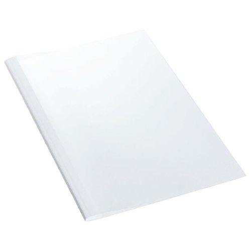 Leitz 177160 Thermobindemappe Standard, A4, Rückenbreite 4 mm, 100 Stück, weiß