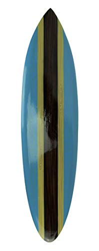 Chesapeake Bay LTD Striped Wooden Surfboard Wall Hanging 39 inch