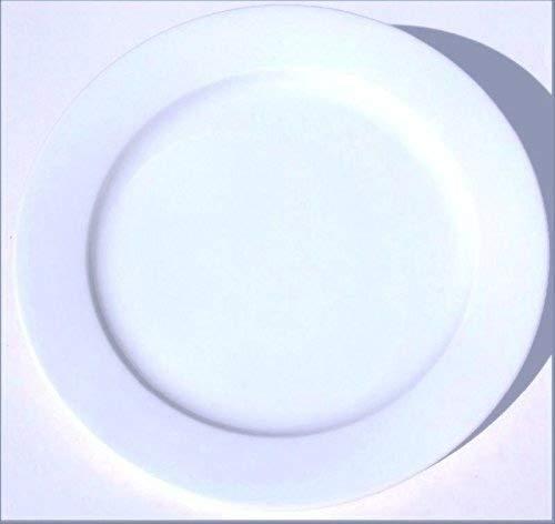 Star (White) BOPLA! Porzellan Black & White Serie 1 Maxi Teller - Maxi ASSIETTE - Maxi Piatto - Maxi Plate - Maxi Plato Durchmesser Ø 31CM, 12-1/4 IN
