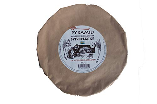 PYRAMID Spisknäcke, schwedisches Sauerteig-Knäckebrot, im Holzofen gebacken,550 g, 15005