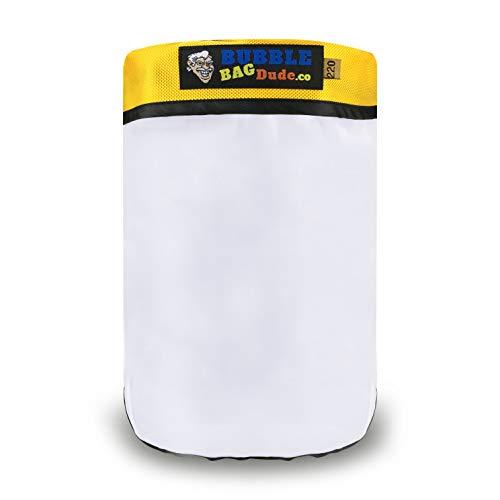 BUBBLEBAGDUDE - Bolsa con cremallera de 220 micras para máquina de burbujas de hielo Magic – Extractor de hierbas – de oferta reutilizable de calidad duradera (20 galones)