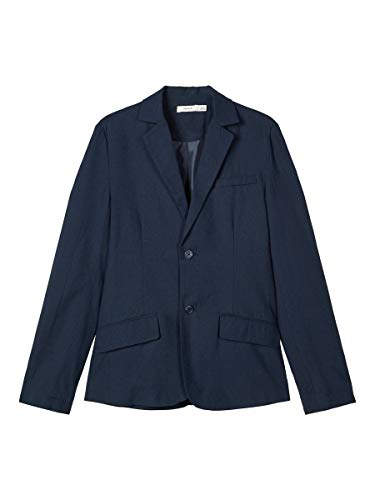 NAME IT Boy Blazer Leinenmischfaser 122-128Dark Sapphire