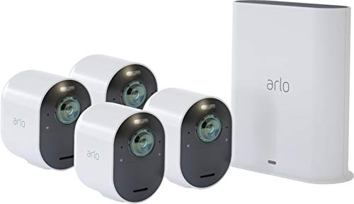 Arlo Ultra 4K Wire-Free HDR Security Cameras Surveillance / 4-Camera
