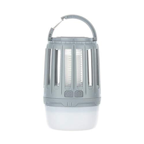 WYL Camping lantaarn LED muggenlamp draagbare outdoor tent licht zaklamp wandelen multifunctioneel outdoor waterdicht stille kroonluchter, grijs