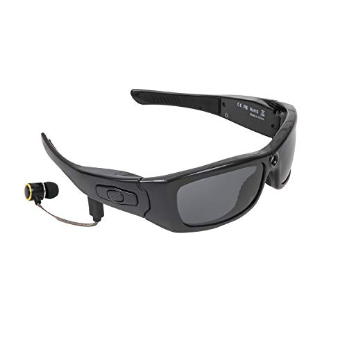 Gafas de sol inalámbricas con Bluetooth para hombres, auriculares con reproductor de MP3, previene eficazmente los rayos ultravioleta y la luz azul dañina, gafas de sol deportivas polarizadas, compa
