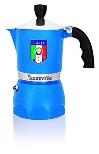 Bialetti 4862/MR Fiammetta Nazionale 3 Tassen, blau