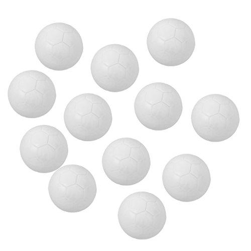 B Baosity 12 teilig Speedball Kickerbälle Kicker Bälle für Tischfussball Tischkicker Kicker-Ball Set