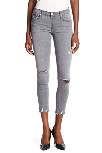 J Brand Frauen Skinny JB000649 Low Rise Jeans mit Riss in Grau Größe...