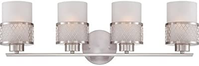 Amazon.com: livex lighting 50565 grammercy 5 mueble de baño ...