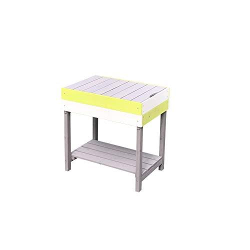 Outdoor Toys KNH1017 - Mesa auxiliar para cocina infantil de madera 50x33x52 cm