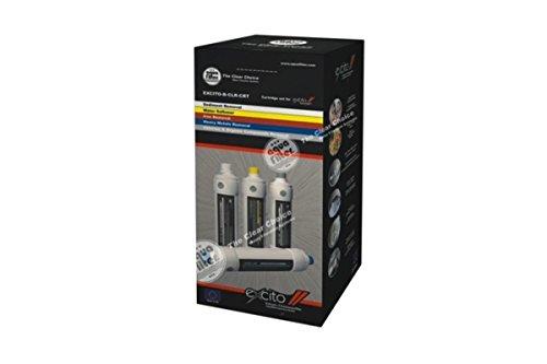 Ersatzfilterset für EXCITO-B - standart AIPRO-20M-QM, AISTRO-2-QM, AICRO-3-QM, AICRO-4-QM.