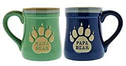 Bear Themed Gift set mugs for mamma and papa bear