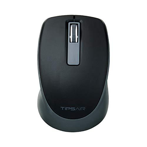 エレコム マウス ワイヤレス (レシーバー付属) Sサイズ 小型 3ボタン TIPS AIR ブラック M-TP10DBXBK