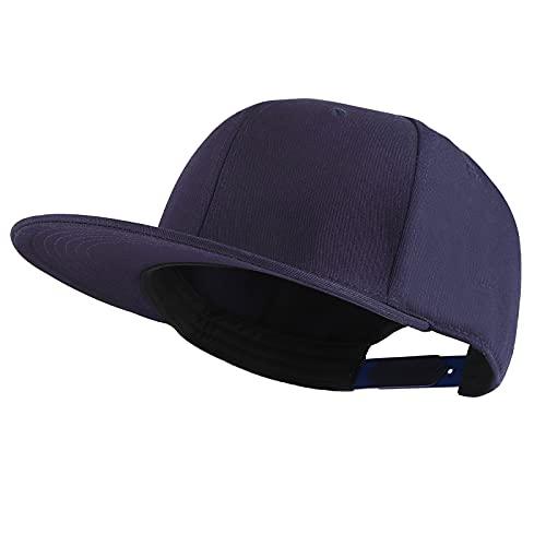 KELOYI Gorras De Mujer Snapback Azul Marino Hombre Béisbol Respirable Ajustable Trucker Cap