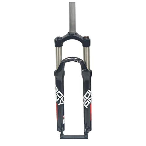 KQBAM Suspension Fork 24 Inch Mountain Bike Front Aluminum Shoulder Control Bike Accessories