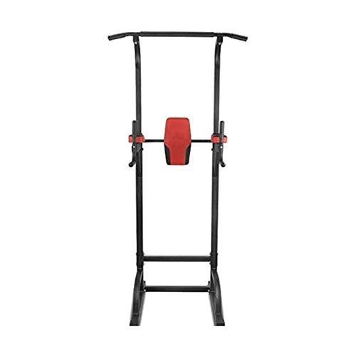 MGIZLJJ Fitness Power Tower Inicio Gimnasio Entrenamiento Ejercicio Peso Adulto Entrenamiento Peso Paralelo Barras Fuerza Torre Entrenamiento (Color : Black)