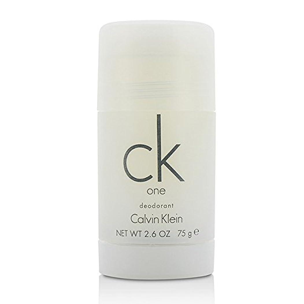 ドライ最適東カルバンクライン(Calvin Klein) シーケーワン(CK ONE) デオドラントスティック 75ml/2.5oz[並行輸入品]