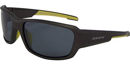 OZZIE sonnenbrille Sport polarisiert schwarz/grau (01:39 P6)