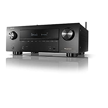 Denon AVR-X3600H UHD AV Receiver (2019 Model) 9.2 Channel, 105W Each | NEW Virtual Height Elevation, Dual Subwoofer Outputs | Airplay 2 Alexa & HEOS