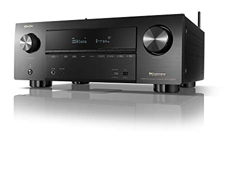 Denon AVR-X3600H UHD AV Receiver (2019 Model) - 9.2 Channel, 105W Each | NEW Virtual Height Elevation, Dual Subwoofer Outputs | Airplay 2 Alexa & HEOS