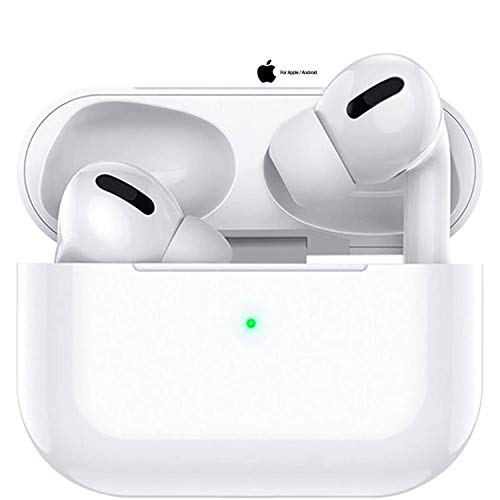 Cuffie Bluetooth, Auricolari Bluetooth 5.0 Senza Fili Cancellazione del rumore, Auricolari con Custodia da Ricarica 24 Ore di Tempo di Utilizzo, Mic-Incorporato per Android iPhone Airpods Pro