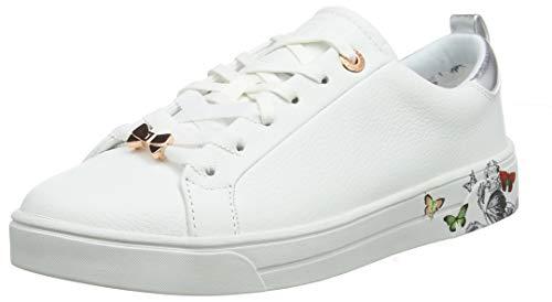 Ted Baker Mispir, Zapatillas para Mujer , Blanco (White Narnia Wht) , 8 EU