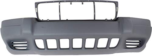 Garage-Pro Front Bumper Cover for JEEP GRAND CHEROKEE 1999-2003 Textured Laredo/Sport Models