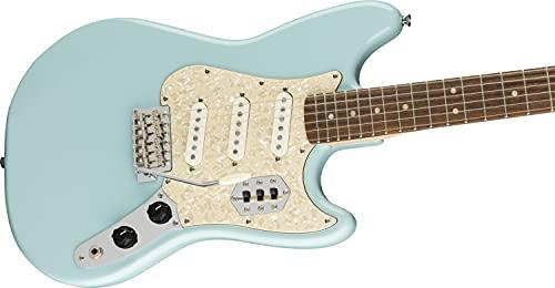 Squier Paranormal Cyclone Guitarra eléctrica (Daphne Blue)