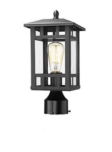 Odeums Outdoor Post Lighting, Outdoor Post Lantern, Exterior Post Light, Outdoor Pillar Lights, Pathway Post Lights
