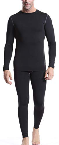 Arcweg Camiseta Térmica Manga Larga Hombre Mallas Hombre Running Leggins Deportes Conjunto...