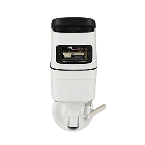 Pumprout Cámara para Exteriores WiFi 1080P Cámara de vigilancia CCTV con detección de Movimiento Cámara de Seguridad para el hogar con visión Nocturna por Infrarrojos IP
