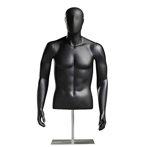 YXX- Maniqui Costura Modista Busto Venta Comercial XL Torso De Maniquí con Cabeza Y...