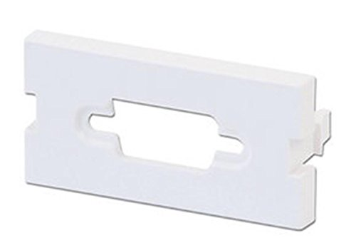 LINE VGA-diafragma (voor vastklikken, effen kleurig), wit, 4 stuks