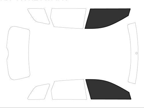 Variance Auto Films Teintés pour Auto Kit Vitres Avant, Noir (Black 05)