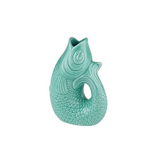 Gift Company - Monsieur - Vase/Blumenvase - Mint Cream - XS 8,5 x 5,5 x 12,5cm -0,2 Liter