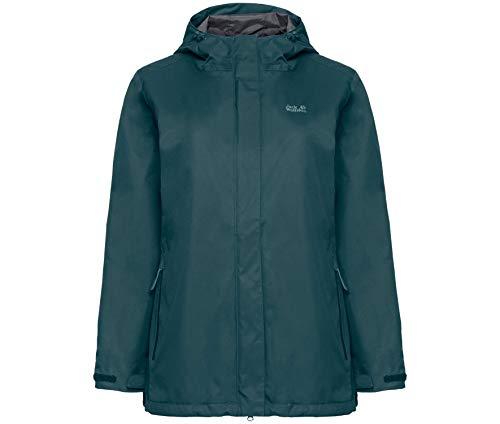 Jack Wolfskin TAVANI Jacket Women Mistle Green Heather - B46