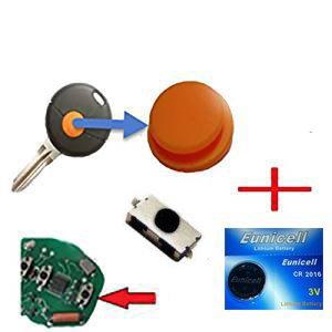 Per Smart 450, chiave a distanza 1 x pannello in gomma + 1 x micro interruttore SMD 1 x batteria.