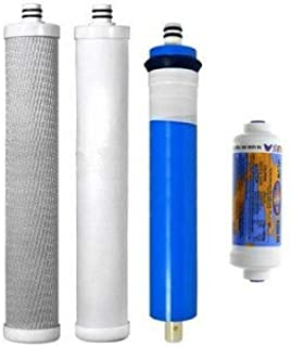 AC-30 Reverse Osmosis System Compatible Replacement Cartridge & Membrane 4 Set